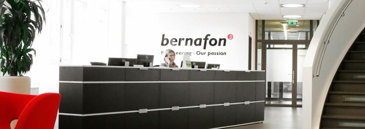 Zentrale von Bernafon in Berlin