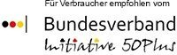 Logo des Bundesverbandes Initiative 50+